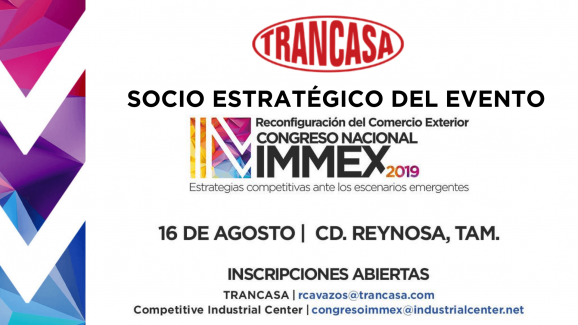 Congreso Nacional IMMEX 2019